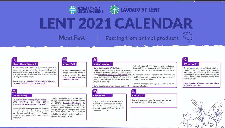 Lent Calendar 02