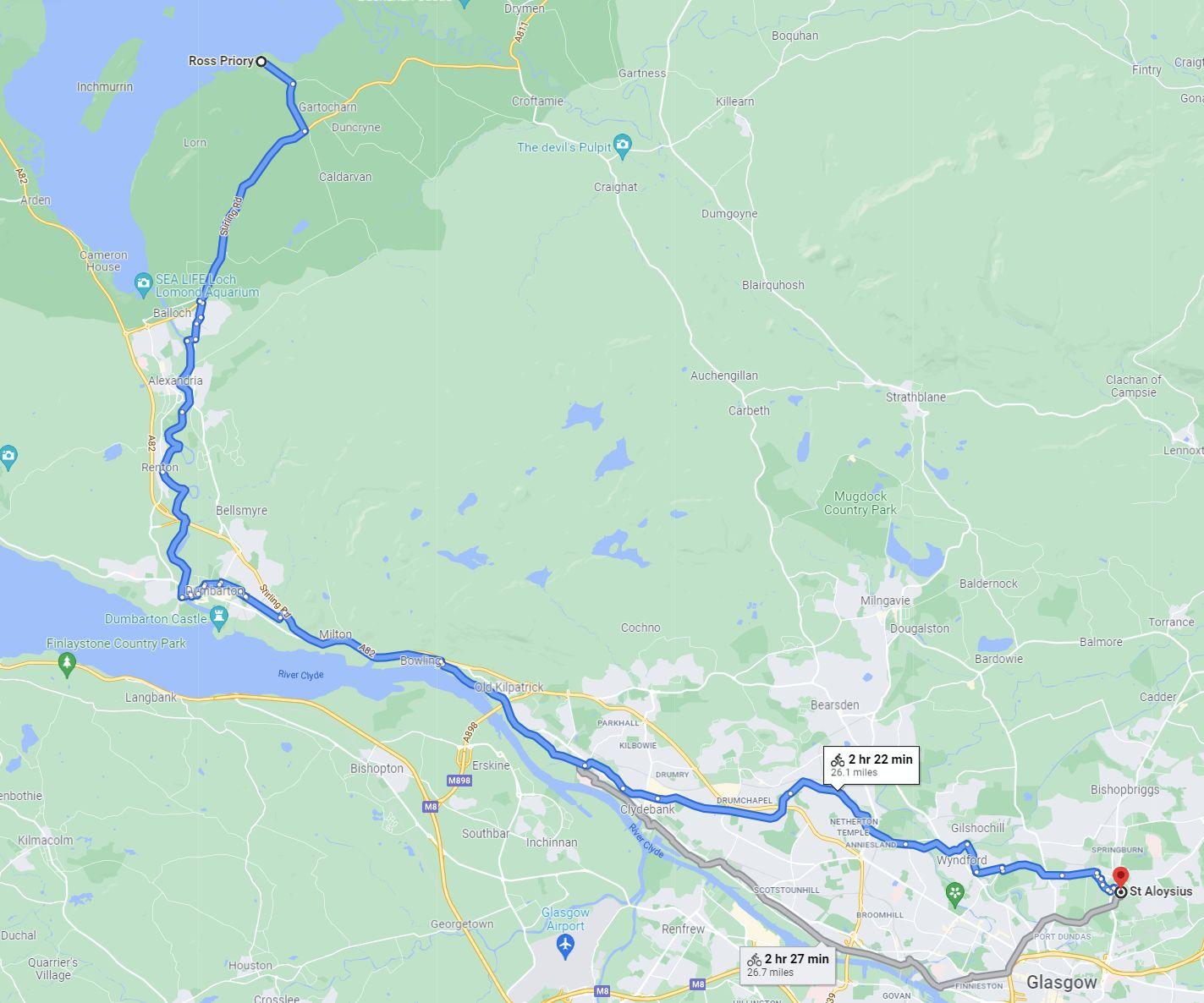 Marathon route 2